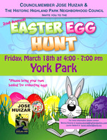 2016-03-18 Easter Egg Hunt at York Park