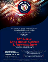 2018-06-30 12th Annual Boyle Heights Concert & Fireworks Show