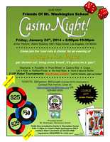 2014-01-24 Annual Casino Night - Mt Washington School