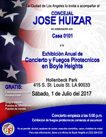 2017-07-01 Boyle Heights 11th Annual Concert & Fireworks Show